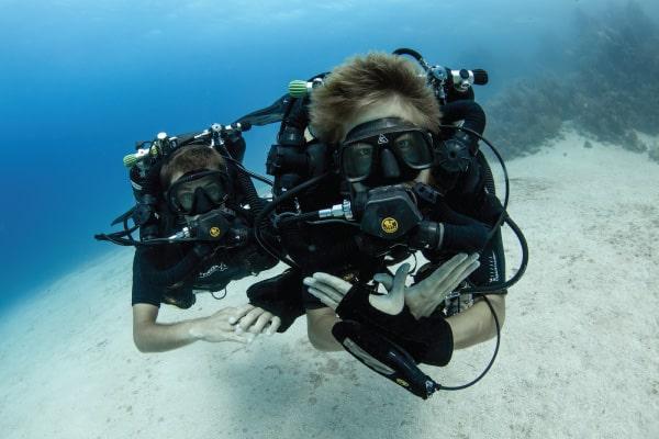 CCR Rebreather Diver