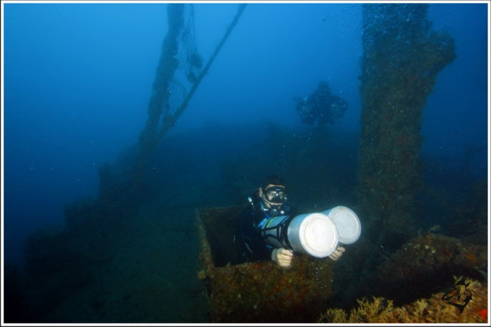 Intermediate Trimix Wreck Diver L4